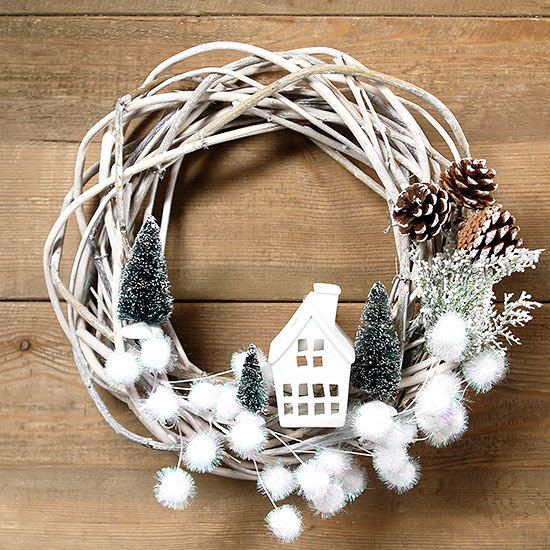The Most Adorable Christmas Wreath We Ve Ever Seen