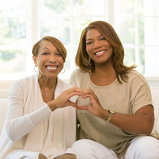 Straight from the Heart: Queen Latifah Talks About Her Mom's Heart Failure Diagnosis