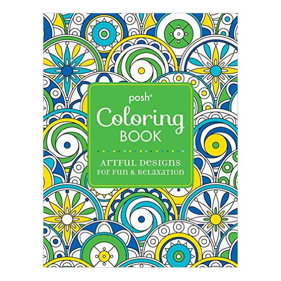 Soothing Circles Posh Adult Coloring Book Artful Designs