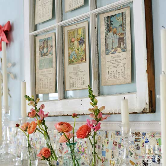 Decorating with old windows for Outdoor decorating with old windows