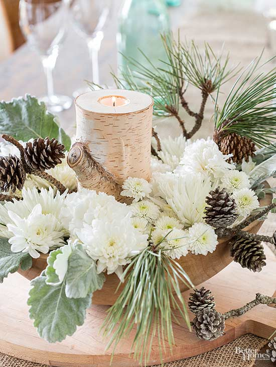 Better Homes And Gardens Sweepstakes >> Pinecone Floral Arrangements