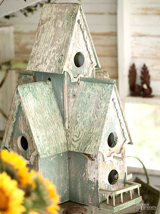 Rustic Birdhouse Ideas