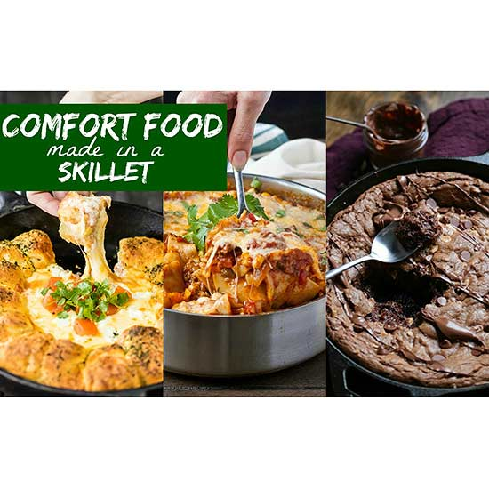 Comfort Foods Made in a Skillet