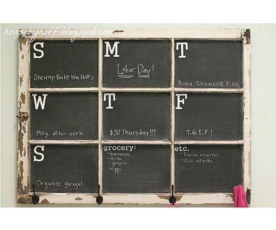 DIY Calendars that Inspire Organization