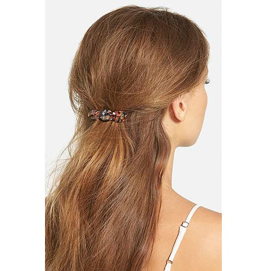 Big-Time Barrettes for Any Hair Length