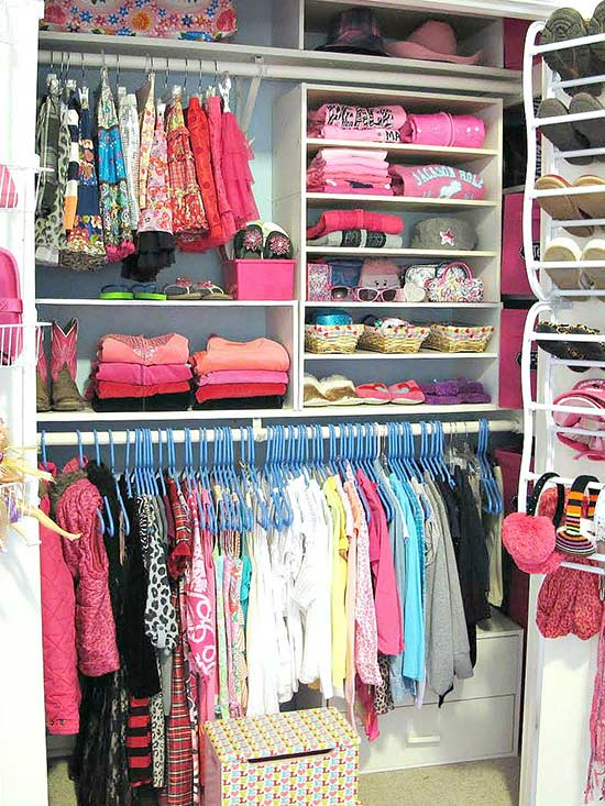 Shortcuts for Organizing Kids' Closets