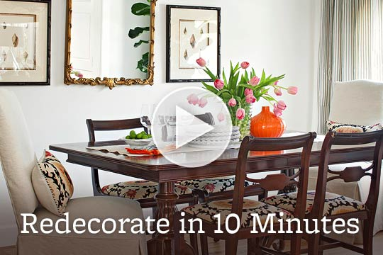 Redecorate in 10 Minutes