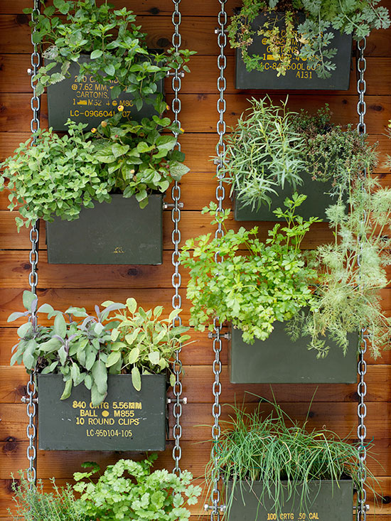 Vertical Gardening Ideas pallet vertical gardens can be stacked and staggered at different heights depending on your space Chain Link Vertical Garden