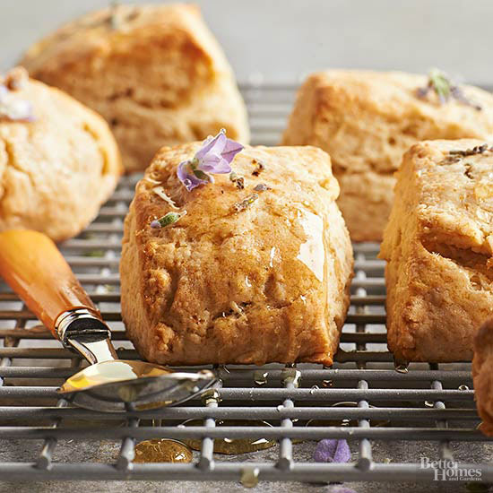Lavender-Honey Scones