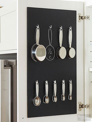 insanely easy kitchen storage - Kitchen Pot Rack Ideas