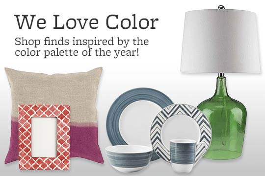 Shop finds inspired by the color palette of the year!