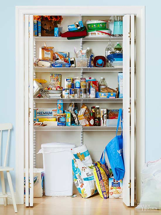 Kitchen Pantry Makeover Ideas