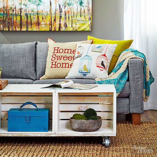 Creative Things to Do with Wood Crates