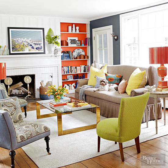 Eye Opening Color Living Room Trends