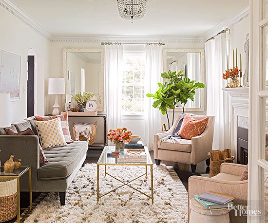 Small-Room Solutions: Living Rooms
