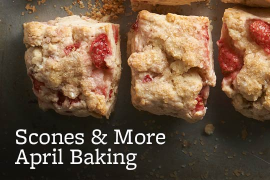 Scones & More April Baking