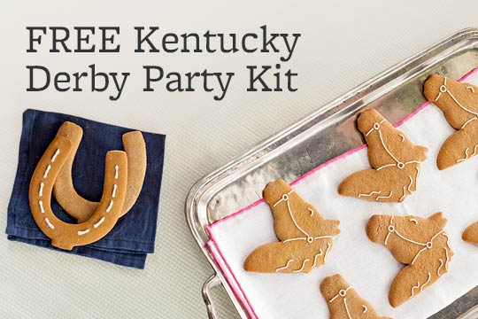 FREE Kentucky Derby Party Kit
