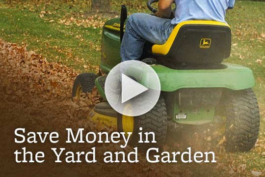 Save Money in the Yard and Garden