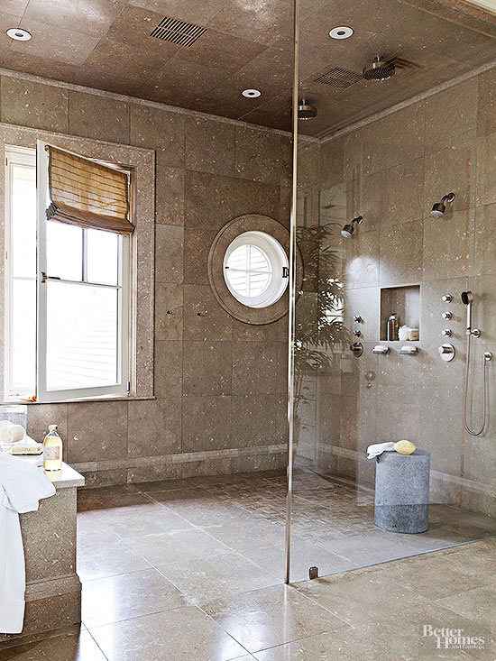 barrier free shower ideas - Bathroom Improvement Ideas