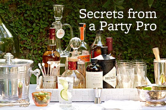 Secrets from a Party Pro