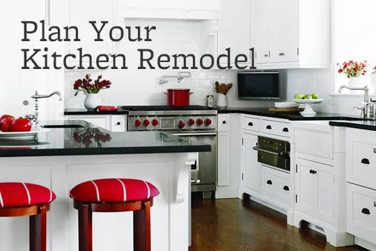 Plan Your Kitchen Remodel