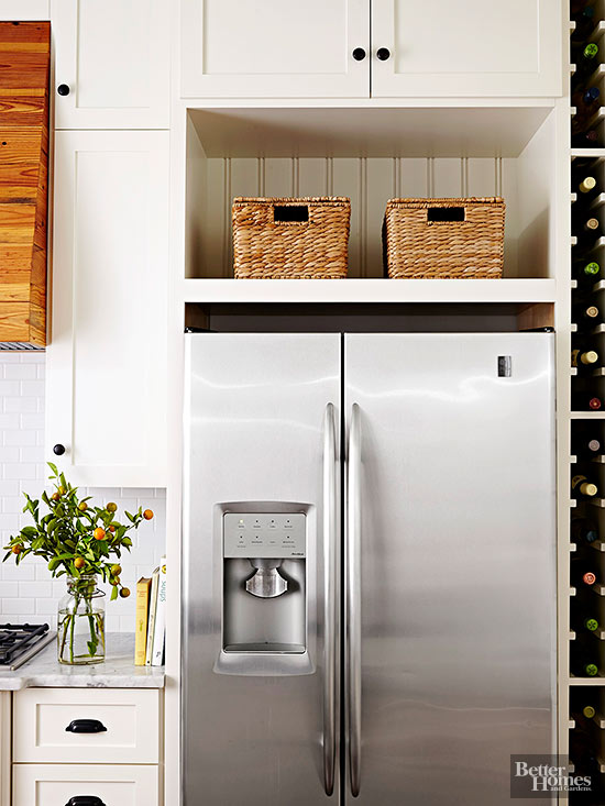 Disgusting home items you re forgetting to clean - Above kitchen cabinet storage ...
