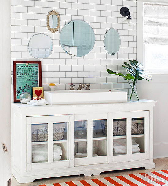 . 14 Ideas for a DIY Bathroom Vanity