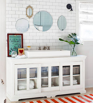 11 Ideas for a DIY Bathroom Vanity