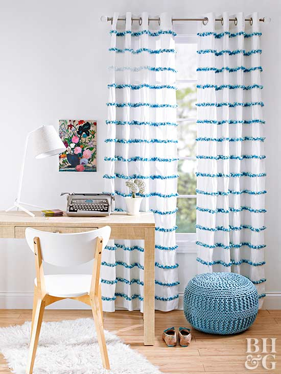 Window Treatment and Curtain Projects -- BHG.com -- Better Homes ...