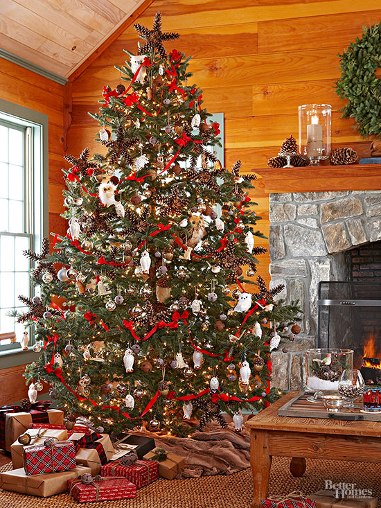 Christmas Tree Decorations Habitat : Creative christmas tree themes