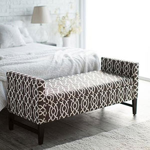 Camille Upholstered Backless Storage Bench