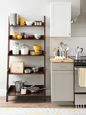 affordable kitchen storage ideas - Kitchen Pot Rack Ideas