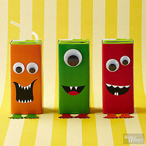 Fun Ways to Disguise Halloween Candy & Party Favors from Better Homes and Gardens