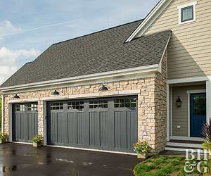 Garage Curb Appeal