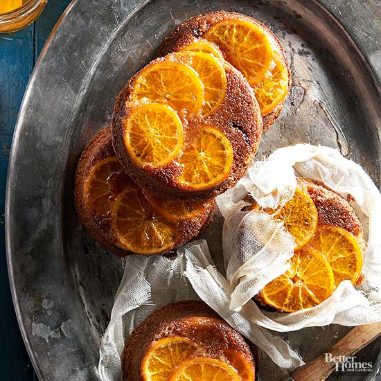 Clementine-Fig Spice Cake