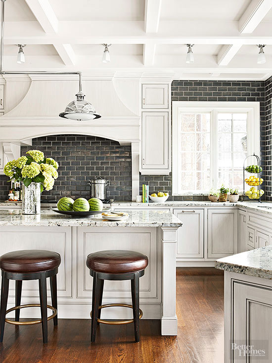 Black And White Kitchen Decorating Ideas Part - 22: White Kitchen Decor Ideas - Gorgeous White Kitchen Makeovers And Great Tips  And Ideas Of How