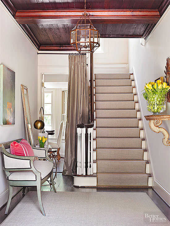 A Carpeted Stairway Quiets Your Home By Softening Footsteps And Absorbing  Sound Waves. Carpeted Stairs Are Safer Than Hard Surface Stairs, As They  Lessen ...