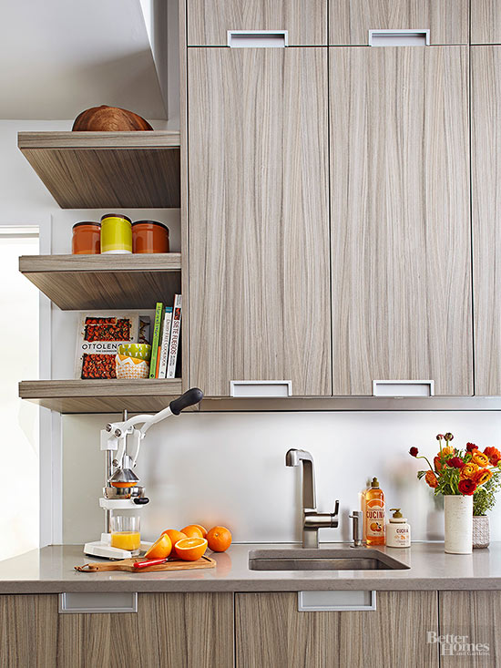 Creative ways to declutter countertops for Kitchen countertop storage solutions