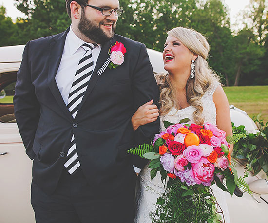 Real Weddings: A Bold and Bright Southern Wedding