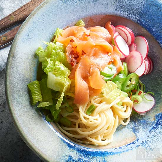 Cold Lox Noodle Bowl