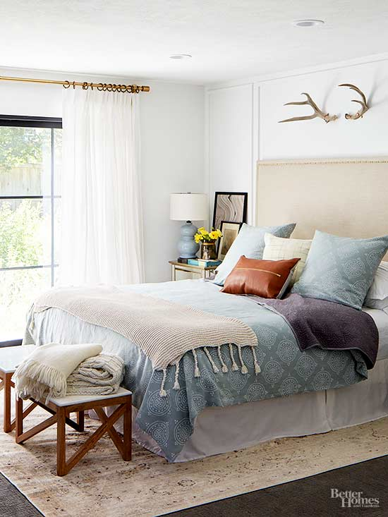 embrace natural light which will help a small bedroom feel light and airy layer drapes and light blocking shades for style and optimal - How Decorate A Small Bedroom