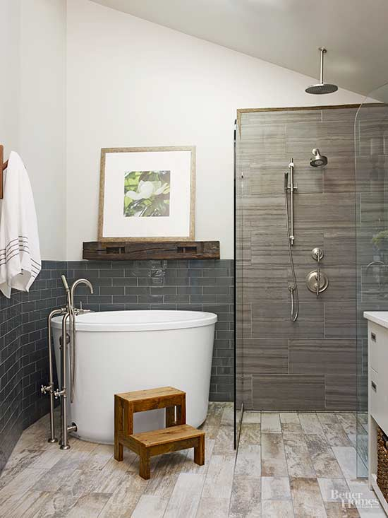 color mix beige bathroom