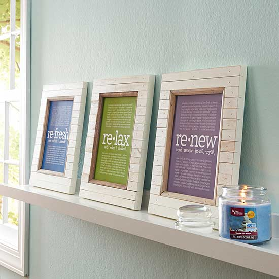 Refresh Relax Renew Wall Art Download