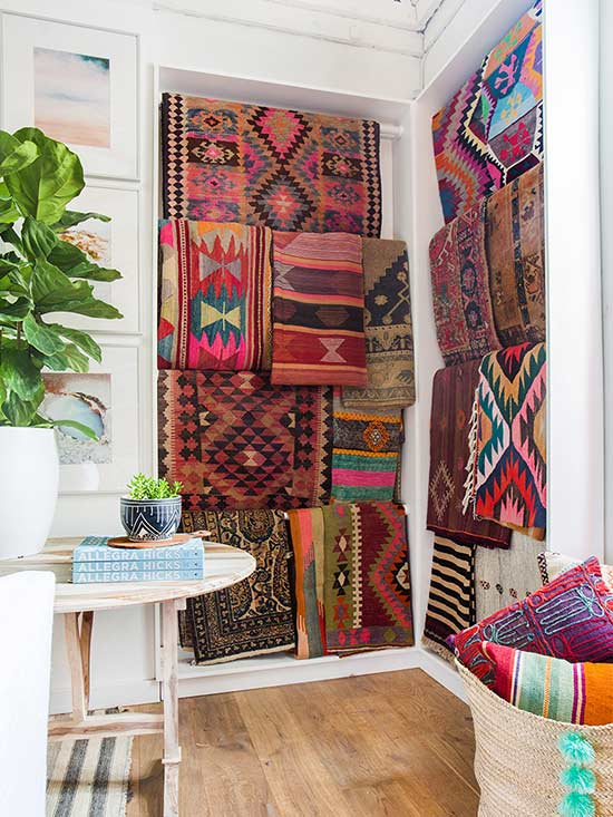 Crushing On: Kilim Rugs