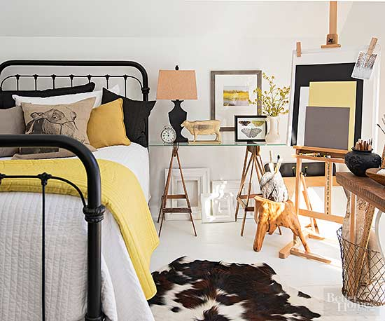 Double Up! With Thoughtful Planning, Bedroom Furniture Arrangements ...