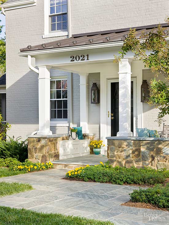 Small Front Porches Designs Front Porch Steps Porch Design: Small Front Porch Ideas