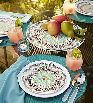 Shatterproof Serveware for Outdoor Entertaining