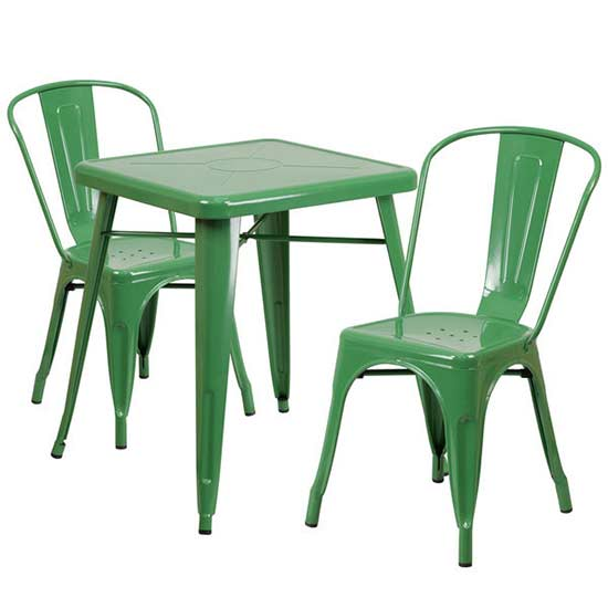 Colorful Outdoor Furniture for Small Patios