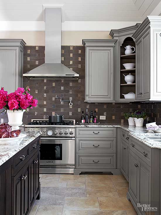 Gray kitchens - Creative ways upgrade grey kitchen cabinets beautifully ...