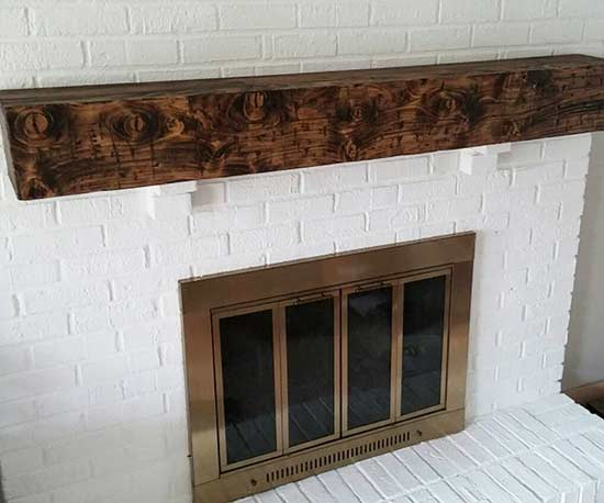 Brick fireplace paint removal john beckstead - Removing paint from brick exterior collection ...